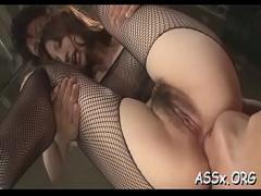 Nice movie category asian_woman (309 sec). Sensational oriental anal pounding.
