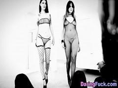 Stars youtube video category lingerie (329 sec). Euro beauties swap cum.