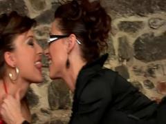 Adult youtube video category bdsm (335 sec). Femdom sluts oral foursome.