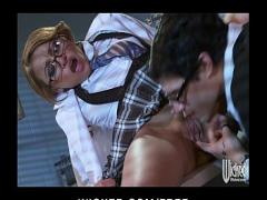 Nice video link category sexy (335 sec). Slutty Asian redhead Jayden Lee rides her boss039_s dick at work.